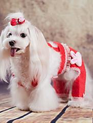 Hund Hundedækkener Hundetøj Afslappet/Hverdag Solid Rød