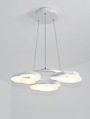 42w suspenso luz moderno / contemporâneo para led metal sala de estar quarto sala de jantar