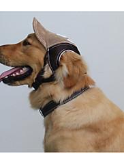Cachorro Bandanas e Chapéus Roupas para Cães Casual Carta e Número Café Azul