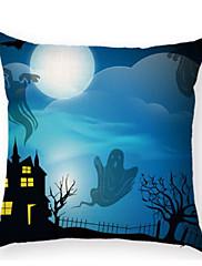 Stk. Bomuld Nyskabende Puder,Trykt mønster Moderne / Nutidig Halloween