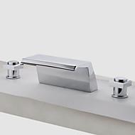 Two Handles Chrome Waterfall Bathtub Faucet (0778 -SY-TG-1026A)
