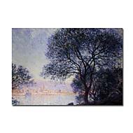 Maalattu Kuuluisa / Maisema 1 paneeli Kanvas Hang-Painted öljymaalaus For Kodinsisustus