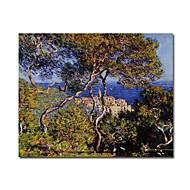 Ručně malované Slavné / Krajina Jeden panel Plátno Hang-malované olejomalba For Home dekorace