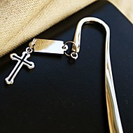 """Timeless"" Cross Bookmark Favor With Gift Box"