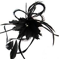 Veren Vrouwen Helm Bruiloft/Speciale gelegenheden/Casual/Outdoor Bloemen/Fascinators Bruiloft/Speciale gelegenheden/Casual/Outdoor
