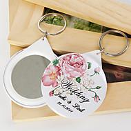 personlig spegel nyckelring - Bloom (sats om 12)