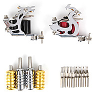 Limited Offer 2 Tattoo Machines Tattoo Kit with LCD Power