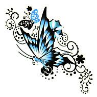 #(5) Tatouages Autocollants Séries animales Motif ImperméableHomme Femelle Adolescent Tatouage Temporaire Tatouages temporaires