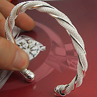 Sterling Silver Dames Cuff armband Armbanden