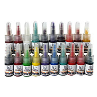 20 Color Tattoo Ink Set 20 * 5 ml