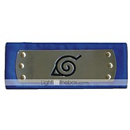 Jewelry / Headpiece Inspired by Naruto Cosplay Anime Cosplay Accessories Headband Black / Red / Blue Alloy / Polyester Male / Female