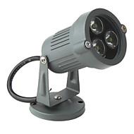 fehér 3-led gyep lámpa (3W ,95-265V ,6000-6300K)