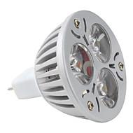 Lâmpada de Foco GU5.3 3 W 270 LM K Branco Natural 3 LED de Alta Potência DC 12 V MR16