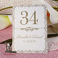 장소 카드 소지자는 개인 테이블 번호 카드 - 오래 된 패션 (10 세트)