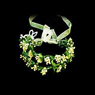 Papier/Imitatie Parel Vrouwen Helm Bruiloft/Speciale gelegenheden Bloemen Bruiloft/Speciale gelegenheden