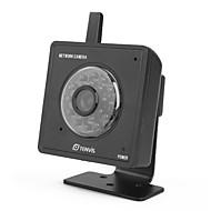 tenvis - mini ip vezeték nélküli hálózati kamera iPhone / Android / BlackBerry támogatott (fekete)