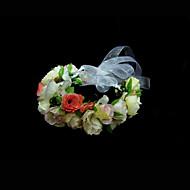 zijde Vrouwen/Bloemenmeisje Helm Bruiloft/Speciale gelegenheden Bloemen Bruiloft/Speciale gelegenheden