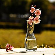 Table maîtresses chics claires deocrations de table vase de verre
