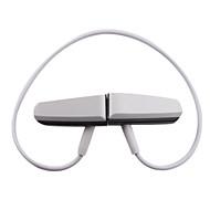 caliente venta de música el deporte auricular estéreo mini reproductor de mp3 8gb (blanco)
