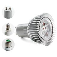 Spot Blanc Chaud PAR/MR16 E14/E26/E27/GU10 W 3 LED Haute Puissance 270 LM 3000K K AC 85-265 V