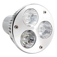 Lâmpada de Foco GU5.3 W 270 LM 6000K K Branco Natural 3 LED de Alta Potência AC 85-265 V MR16