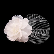 Women's Tulle Headpiece-Wedding / Special Occasion / Casual / Outdoor Birdcage Veils