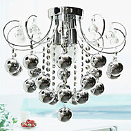 Modern Crystal Chandeliers with 3 Lights