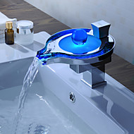Sprinkle® by Lightinthebox - Color Changing LED Waterfall Bathroom Sink Faucet (Unique Design)