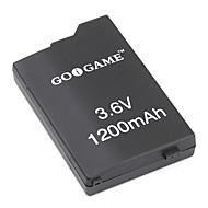 udskiftning af batteri til PSP (3.6V, 1200mAh)