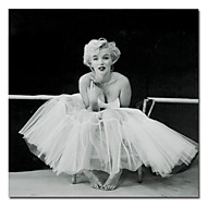 Printed People Marilyn Monroe Canvas Art with Stretched Frame