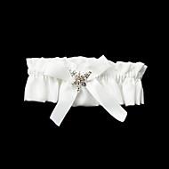 Poliéster Gorgeous / Satin Con liga de la boda bowknot