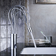 Sprinkle® by Lightinthebox - Post Modern Brass Bathroom Sink Faucet (Chrome Finish)