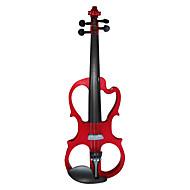 Chow - (ev05) 4/4-size tilleul tenue de violon électrique (multi-couleur)