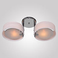 Max 60W Flush Mount ,  Modern/Contemporary Chrome Feature for Mini Style Metal Living Room / Bedroom / Dining Room / Entry