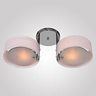 Max 60W צמודי תקרה ,  מודרני / חדיש כרום מאפיין for סגנון קטן מתכת חדר שינה / חדר אוכל / כניסה