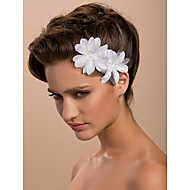 Women's Satin Headpiece-Wedding / Special Occasion / Casual / Outdoor Fascinators / Flowers