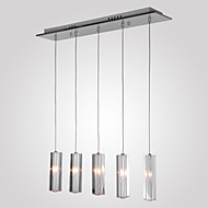 10 Pendant Light ,  Modern/Contemporary Island Chrome Feature for Crystal Metal Dining Room