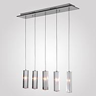 Privjesak Svjetla ,  Modern/Comtemporary Konyhasziget Chrome svojstvo for Crystal Metal Dining Room