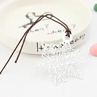 signets conception de neige avec cordon en cuir