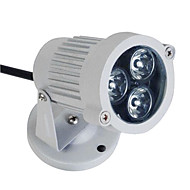 3 W 3 High Power LED 195 LM RGB / Color-Changing Flood Lights AC 100-240 V