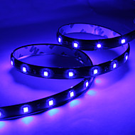60CM 30x1210 SMD LED Blue Light Strip Lamp for Car (DC 12V)