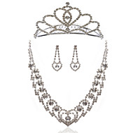 Smykker Set Dame Legering/Rhinestone