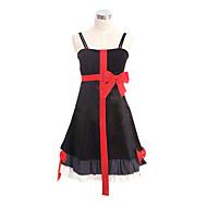 Cosplay Costume Inspired by Guilty Crown Inori Yuzuriha Black Dress  (Dress)