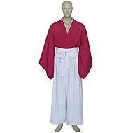 RurouniKenshin - Himura Kenshin - med Kimono Kappa / Hakama Byxor