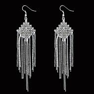 Drop Earrings Women's Alloy Earring Crystal