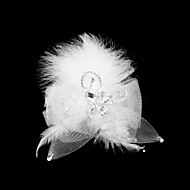 Women's Feather / Tulle Headpiece-Special Occasion Fascinators As the Picture
