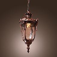Lustre Pendente Vintage com Uma Luz
