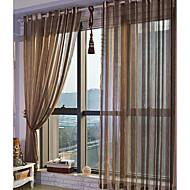 AnTi™ Kent Traditional Sheer Curtain Two Panels  Curtains Drapes