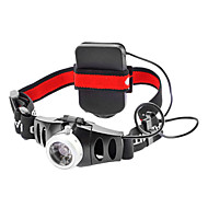 Lights LED Flashlights/Torch / Headlamps LED 200 Lumens 2 Mode Cree XR-E Q5 AAA Cycling/Bike Aluminum alloy