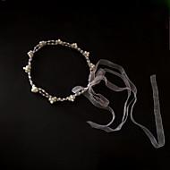 Serre-tête Casque Mariage/Occasion spéciale/Casual Tulle/Imitation de perle Femme Mariage/Occasion spéciale/Casual